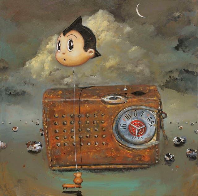 Obra del artista tucumano Pablo Ríos