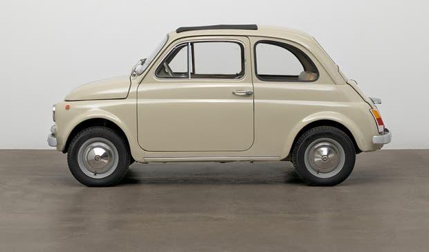 El Fiat 500 de la Serie F adquirido por el museo neoyorquino
