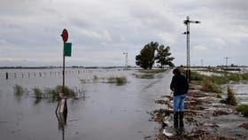 General Villegas tiene el norte de su partido otra vez inundado