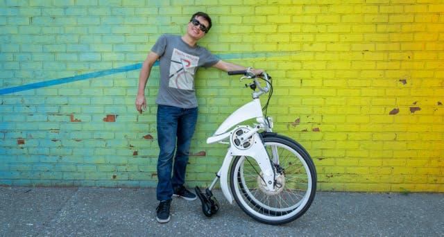 Lucas Toledo, uno de los cofundadores de Gi FlyBike