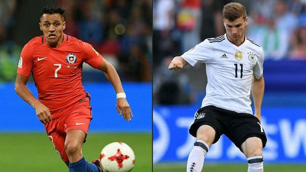 Chile y Alemania definen el título en el estadio Krestovski