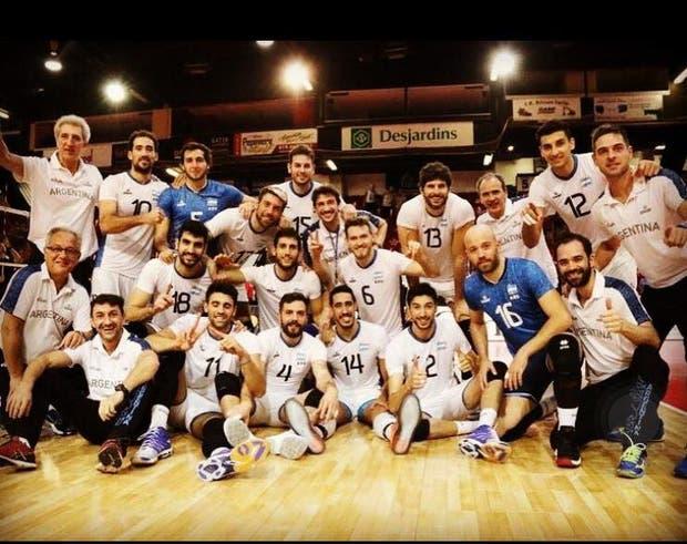 El equipo campeón de la Copa Panamericana en Canadá