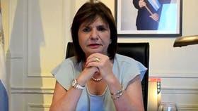 "Patricia Bullrich dijo que tomarán acciones ""lógicas"" para desactivar piquetes"