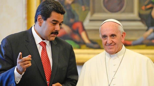 El Papa recibió a Maduro en junio de 2013