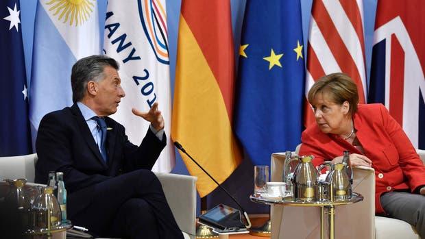 """El presidente Mauricio Macri dijo en una sesión plenaria del G-20 que en Venezuela """"no se respetan los derechos humanos"""""""