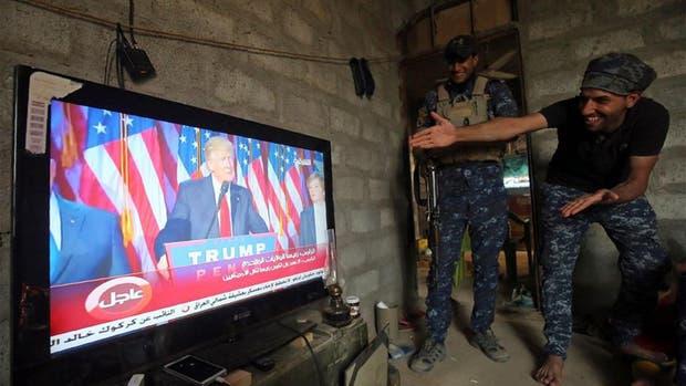 La sorpresa de los soldados iraquíes que combaten en Mosul
