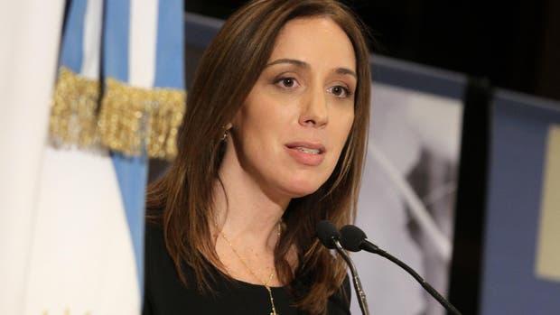 La gobernadora de la provincia de Buenos Aires María Eugenia Vidal