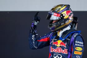 Vettel volvió a encabezar un podio