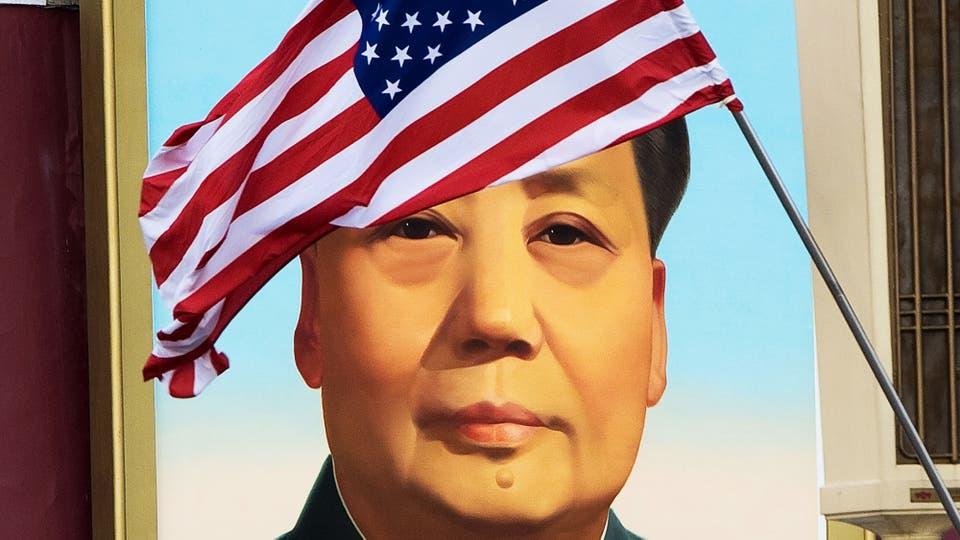 Donald Trump visita China en el marco de la gira por cinco países de Asia. Foto: AFP / Nicolas Asfouri