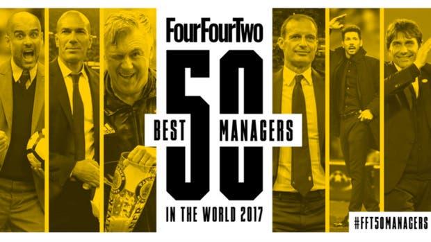 Los 50 mejores técnicos según Four Four Two