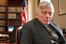 El juez Griesa, de la justicia de Nueva York, quien ordenó hace unos días pagar la deuda pendiente con los tenedores de bonos argentinos