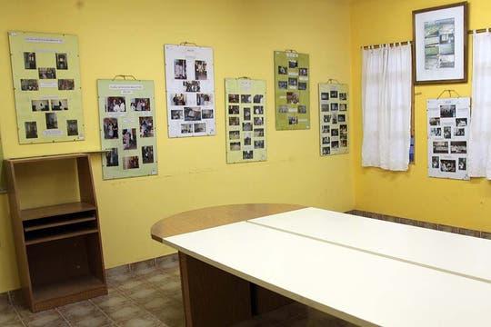 Hoy, el aula de la tragedia es una sala de reuniones. Foto: LA NACION / Matías Aimar