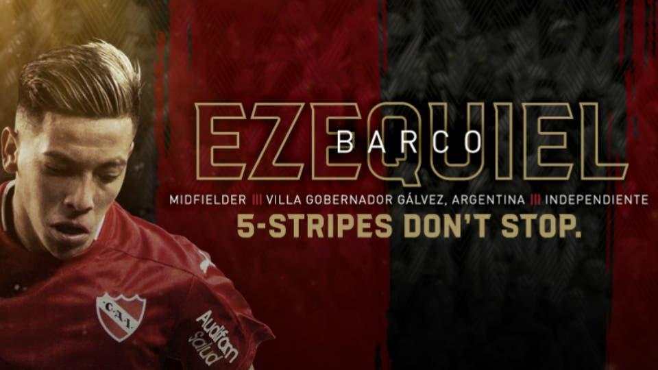 Atlanta United anuncia fichaje de Ezequiel Barco — MLS