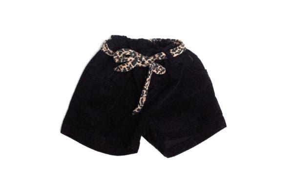 Shorts de corderoy con lazo (Cheeky, $162).