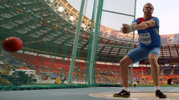 Sergej Litvinov es uno de los atletas autorizados