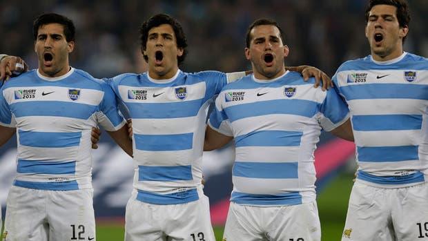Los Pumas, en el último Mundial
