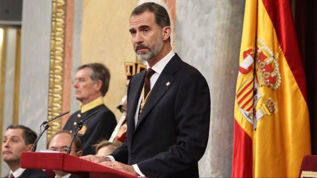 El rey Felipe hablará a las 21 (hora española), la 1 en la Argentina