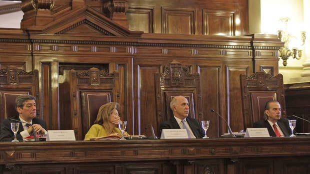 La corte Suprema durante las audiencias públicas en agosto pasado