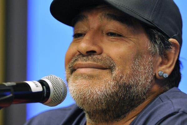 Diego Maradona se emocionó en un audio de WhatsApp