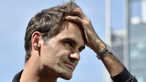 Federer, ausente en París