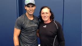 Rafael Nadal y Guillermo Vilas