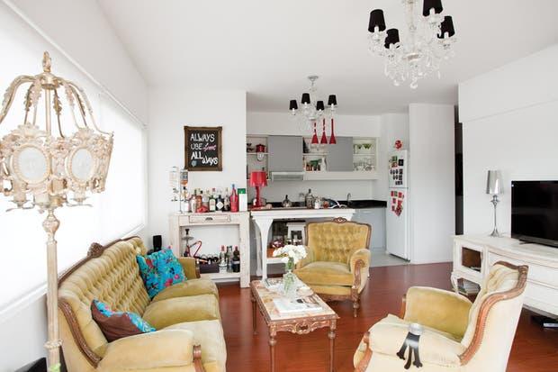 Claves para combinar muebles antiguos y modernos living - Muebles clasicos modernos ...