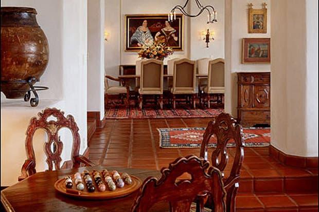 Interiores coloniales - Cocinas estilo colonial ...