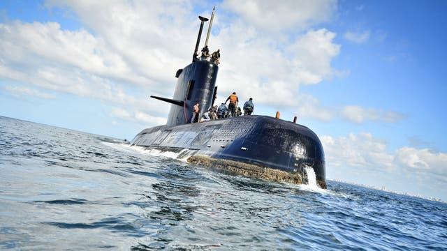 El submarino se encuentra desaparecido desde el miércoles pasado