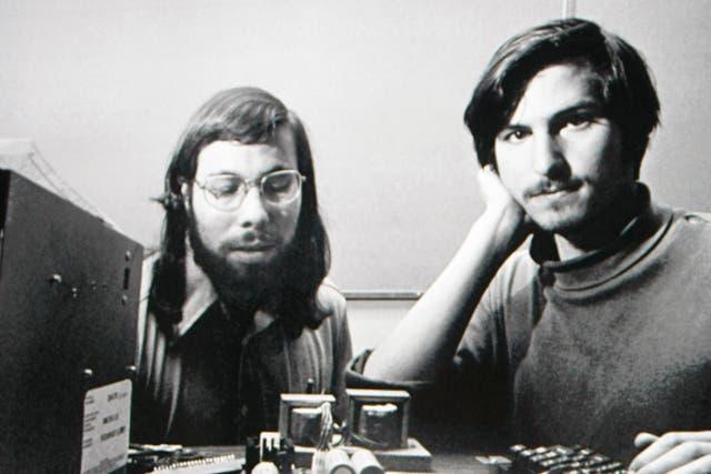 Jobs y Wozniak a principios de la década de 1970
