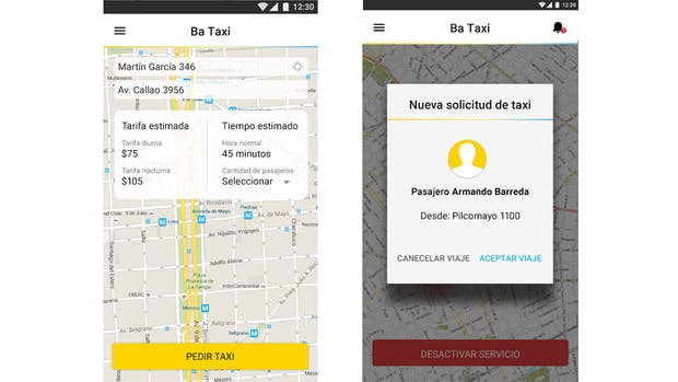 Con 2.000 taxistas registrados, comenzó a funcionar la aplicación BA Taxi