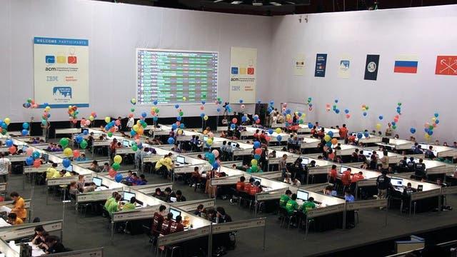 La International Collegiate Programming Contest (ICPC), que este año se realizó en Rapid City, en Estados Unidos, es una de las principales competencias de computación entre universidades en el mundo