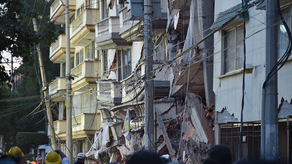 En 1985, México sufrió el más mortífero de los terremotos. Foto: AFP