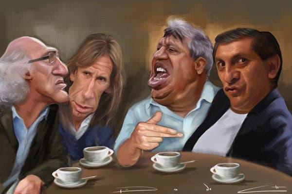 Bianchi, Gareca, Tolo y Ramón
