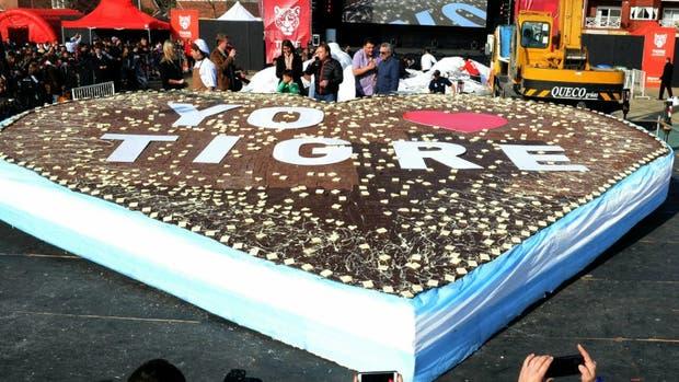 El municipio de Tigre compartió 2.000 kilos de chocolate artesanal