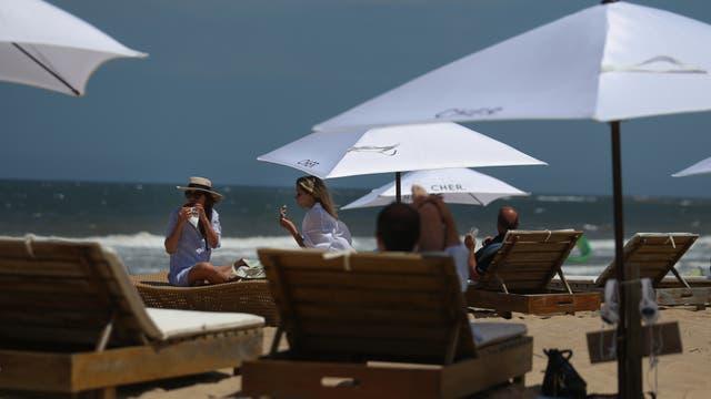 En el parador Laguna Escondida se encuentra Playa Cher. Foto: Diego Lima