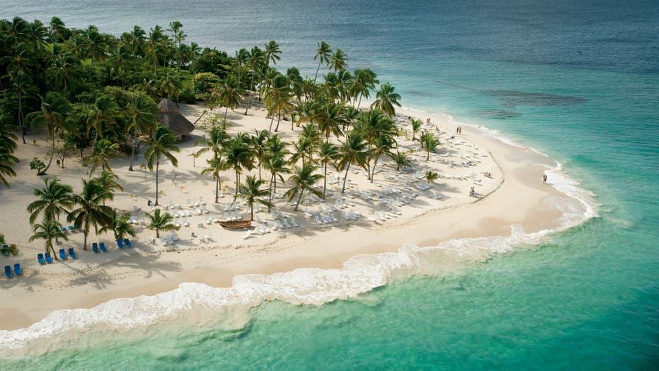 Cayo Levantado, con sus playas idílicas