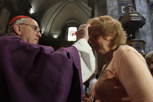 Bergoglio vive en un cuarto de la Curia, del que sale muy poco. Foto: Archivo