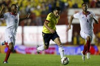 Con gol de Radamel Falcao, Colombia venció a Costa Rica en un amistoso