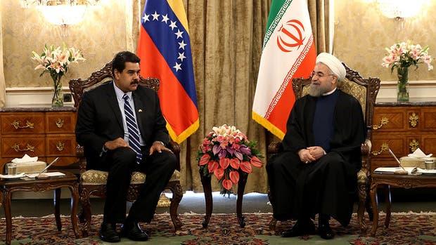 Maduro se reuni� con el ayatolah de Ir�n y critic� a Estados Unidos