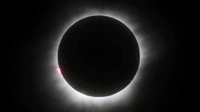 La agencia espacial estadounidense se prepara para el siguiente eclipse total de sol que tendrá lugar en agosto de 2017 y que cruzará en diagonal todo Estados Unidos. Foto: AP