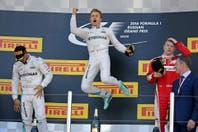 Nico Rosberg sigue imparable en la Fórmula 1: ganó en Rusia y alcanzó un récord de Schumacher