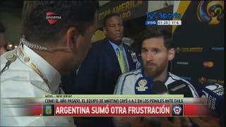 Messi Se terminó para mí la Selección
