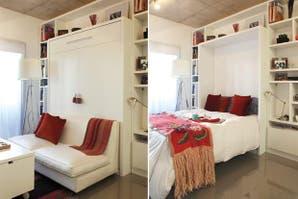 Tres muebles multifunción para un monoambiente