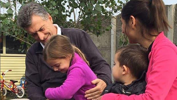 Macri se mostró junto a su hija en Tandil.