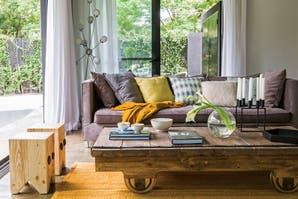 Una casa con ambientes abiertos y generosos