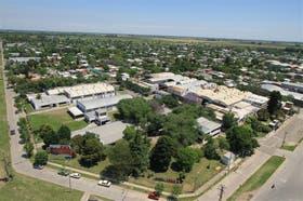 Vista aérea de la planta de Basso en Rafaella, Santa Fe