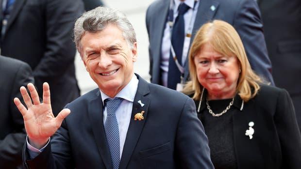 Mauricio Macri, ayer, en Quito