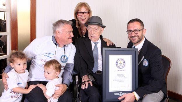 Kristal se volvió a casar después del Holocausto y tuvo dos hijos (foto de 2016)