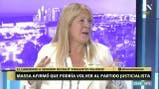 Margarita Stolbizer opina sobre el escenario político