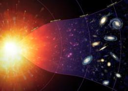 Pudimos deducir que el Universo empezó con un Big Bang a partir de un sólo punto.